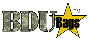 BDU bags - The perfect reminder for family and loved ones of those serving our country.