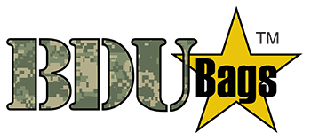 BDU bags – A product of SewNeau, specialists in military uniform alterations.